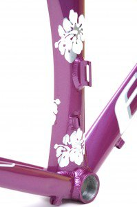 Elite-Bicycles-Custom-built-Custom-paint-Triathlon-bike-Purple-with-floweres