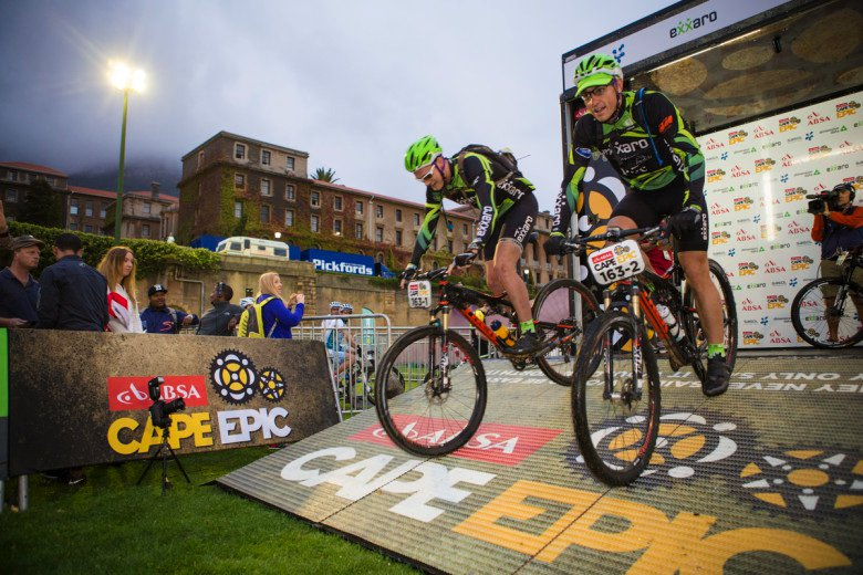 Absa Cape Epic 2015 Prologue - UCT