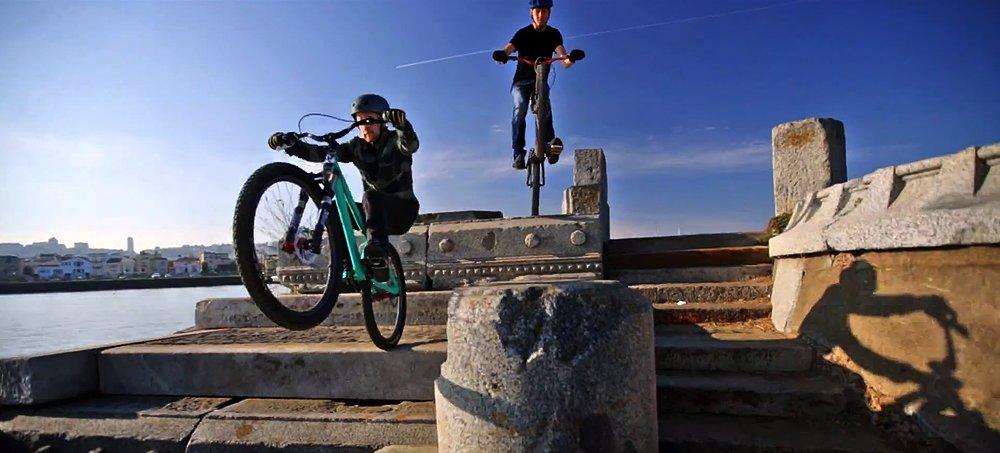 Bike-Parkour