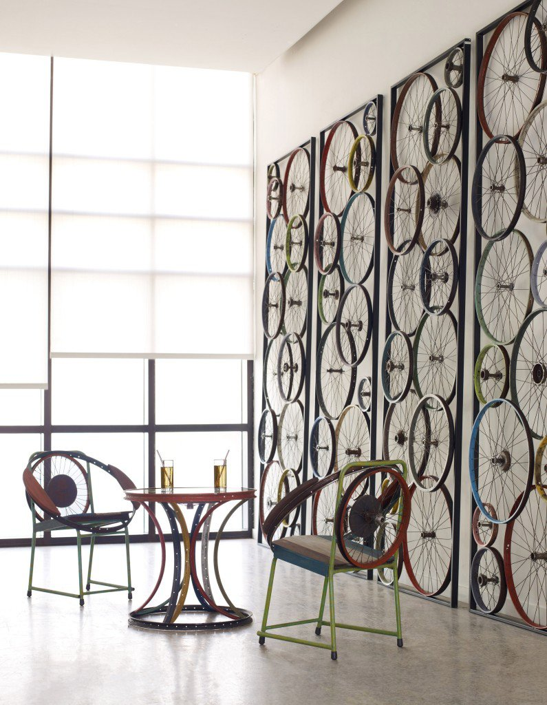 Homes-Right-Decorating with Bikes