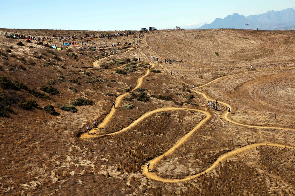 Absa Cape Epic 2012 Prologue - Meerendal Wine Estate