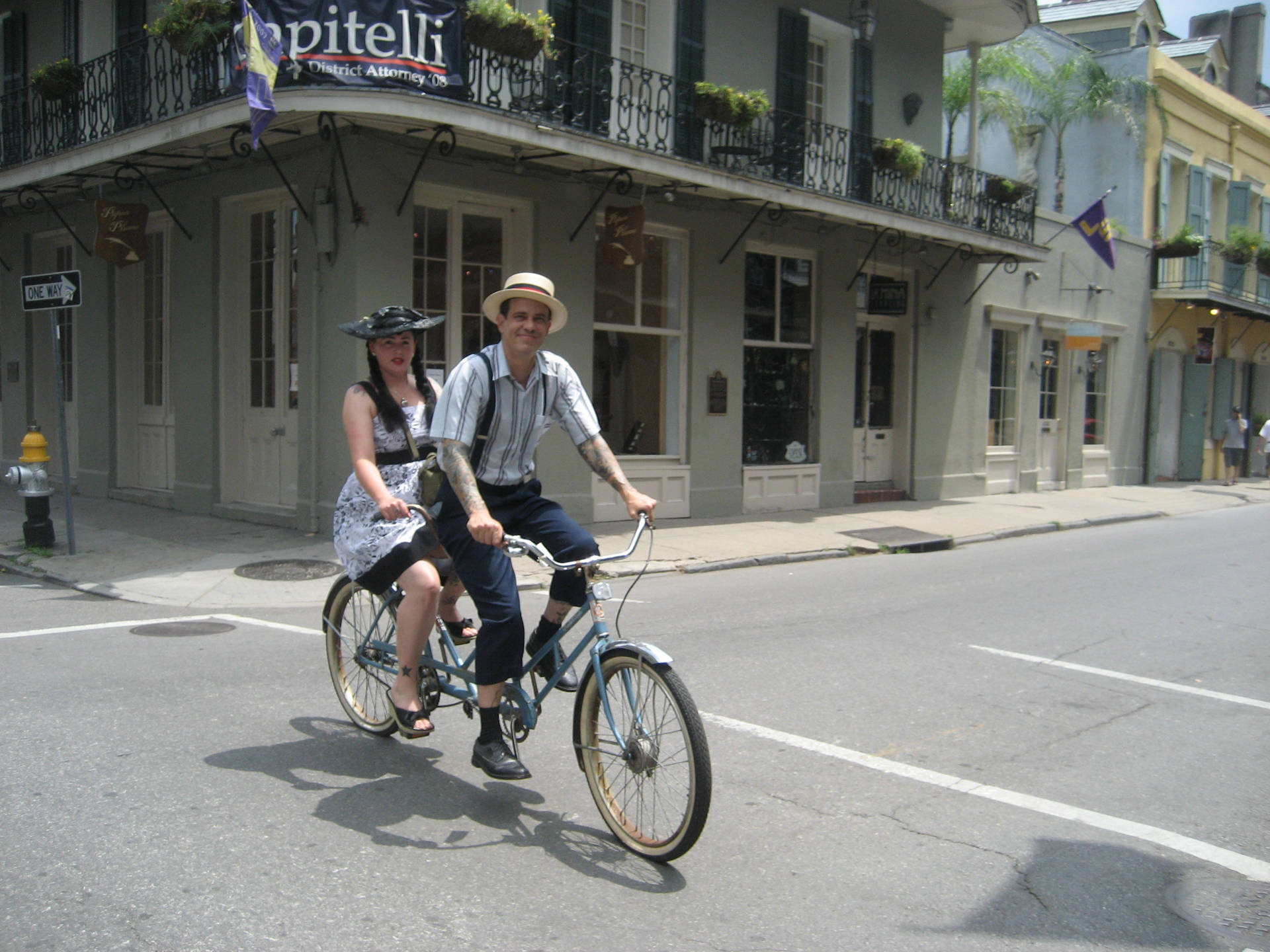 RoyalBicycleBuiltForTwoBastilleDay2008