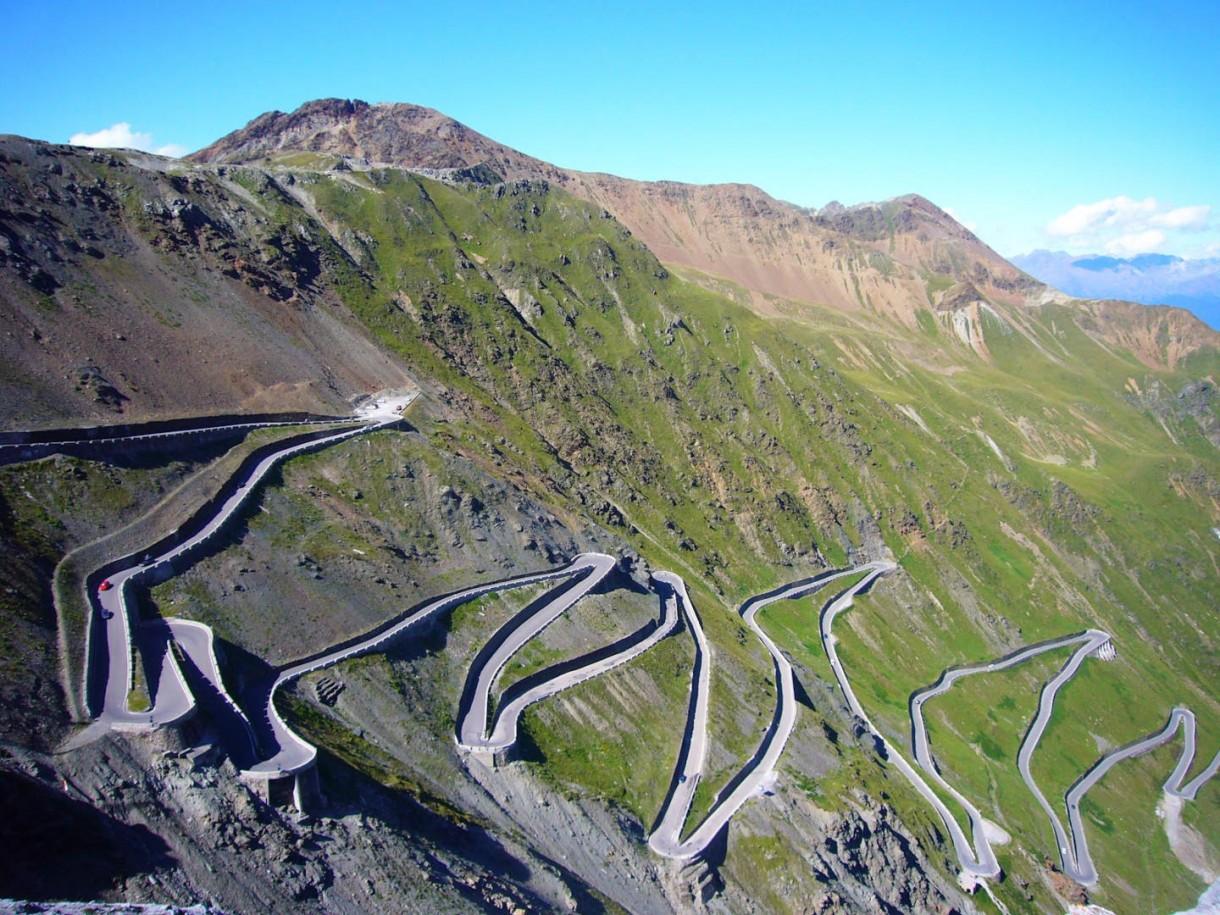 Passo dello Stelvio road bike