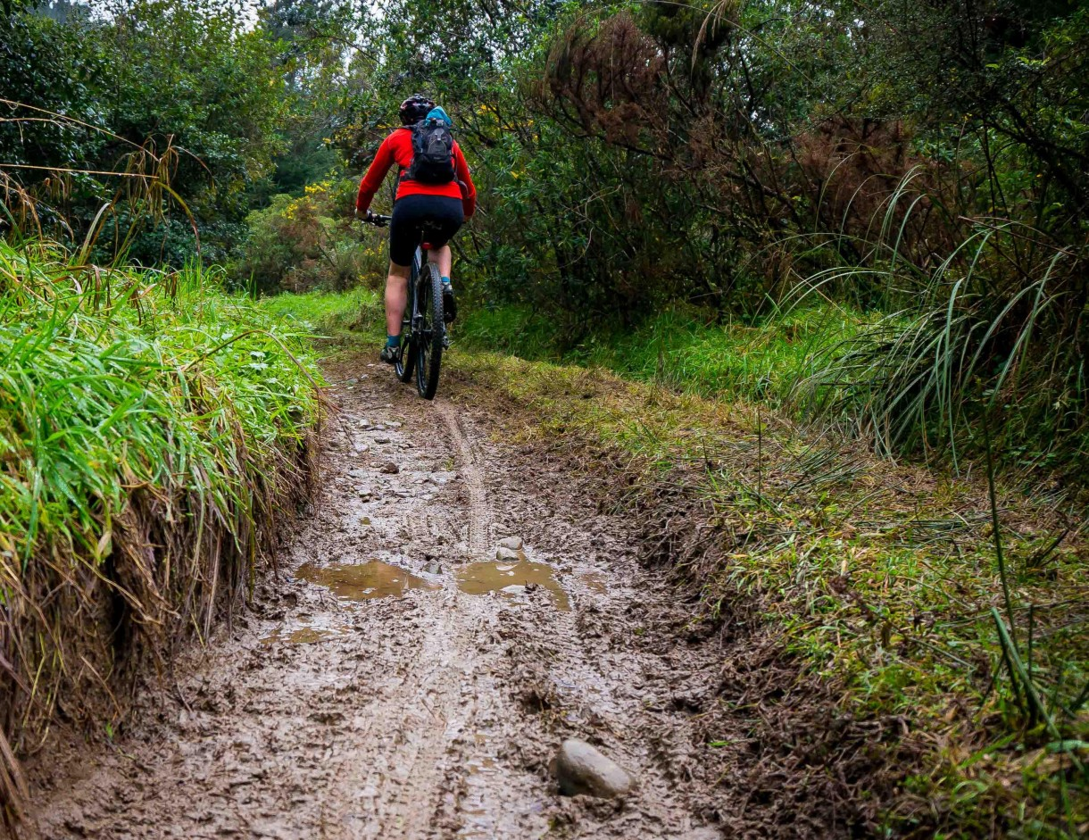 mtb puddle mud