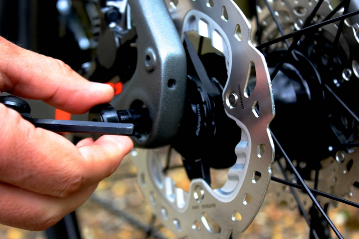 road bike thru axle disk brake (2)