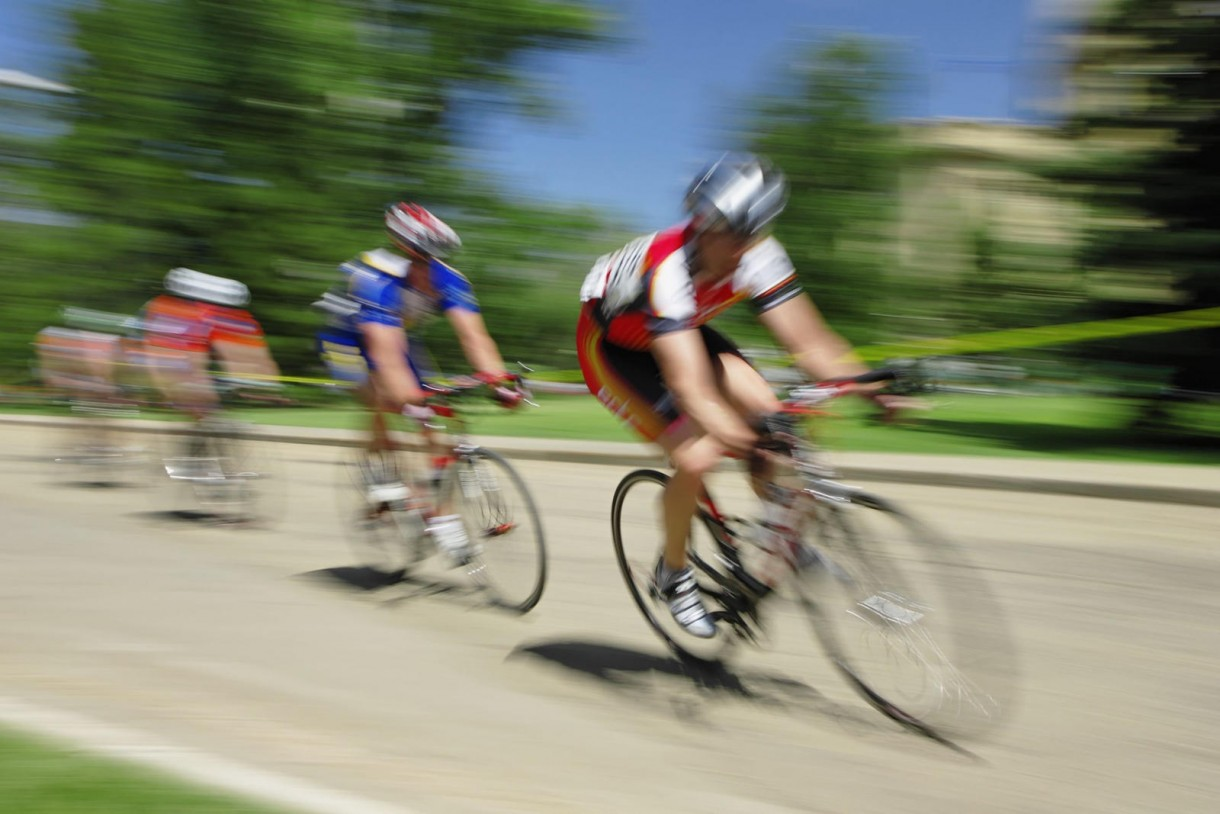 road cycling blur