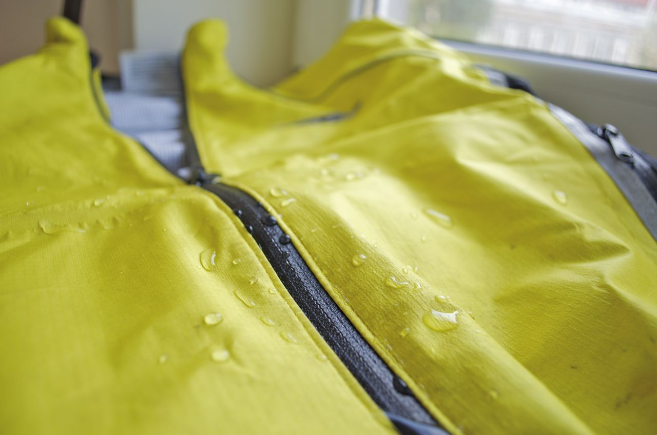 How to revive your old water proof rain gear for Fall and Winter cycling