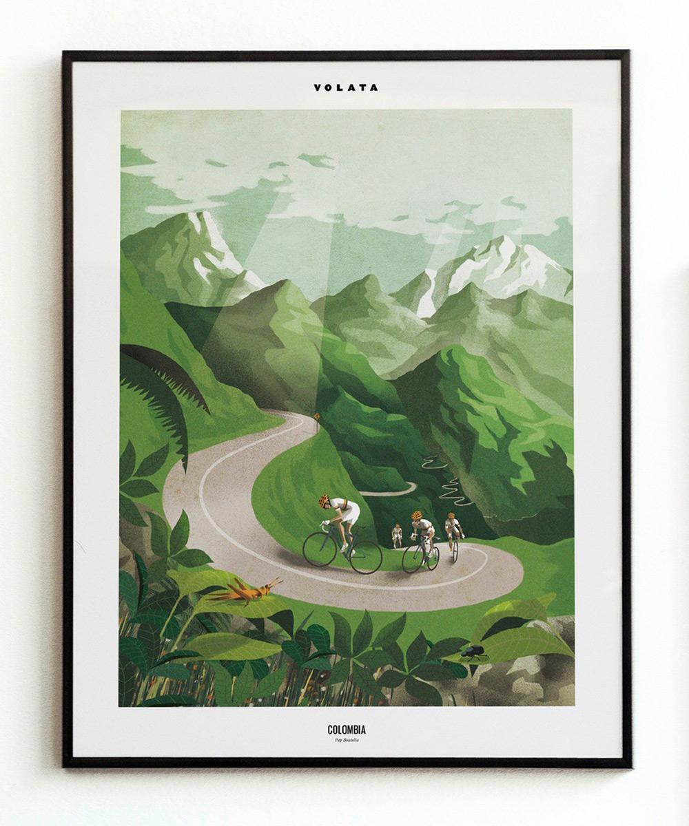Volata cycling painting (3)
