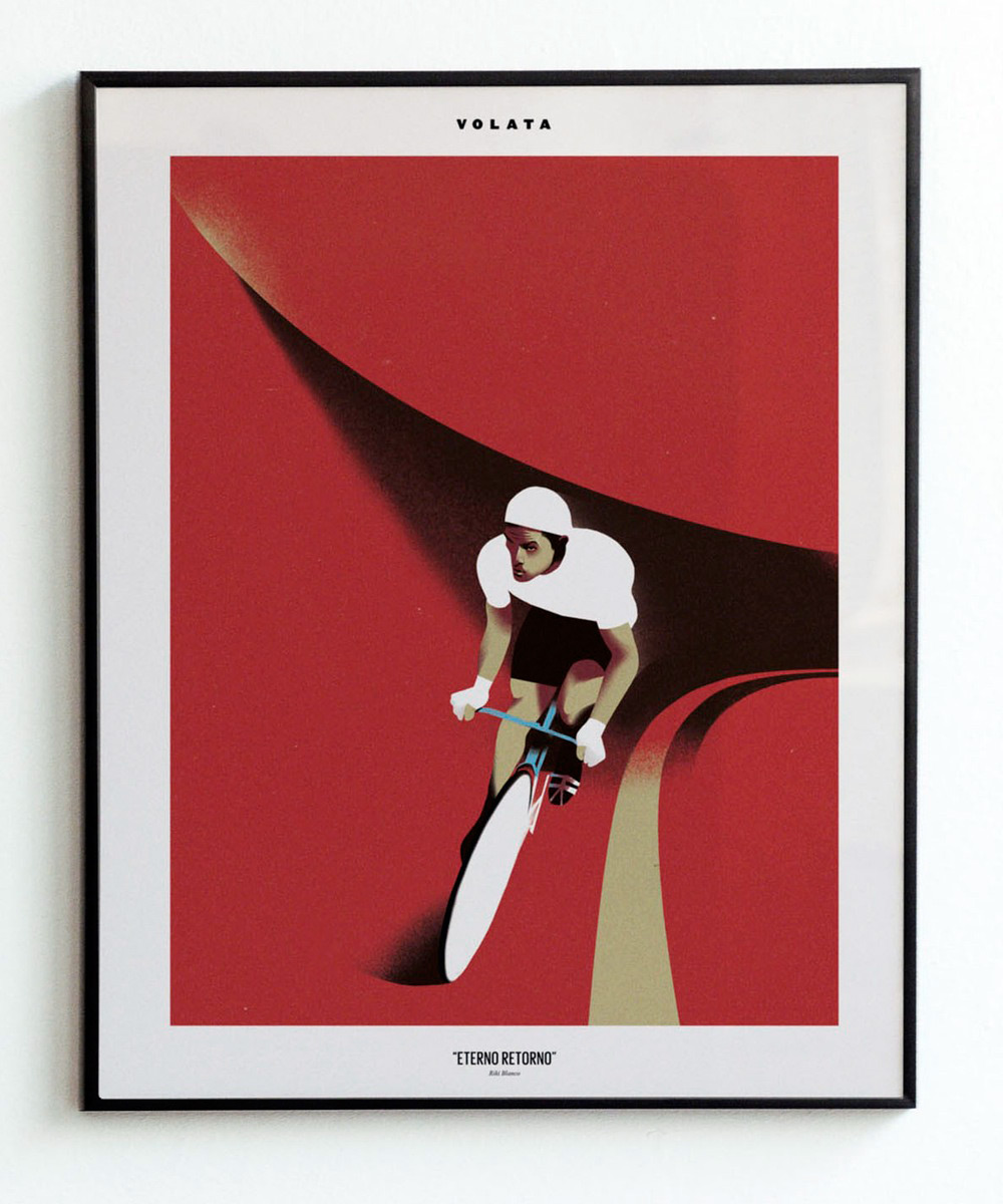 Volata cycling painting (4)