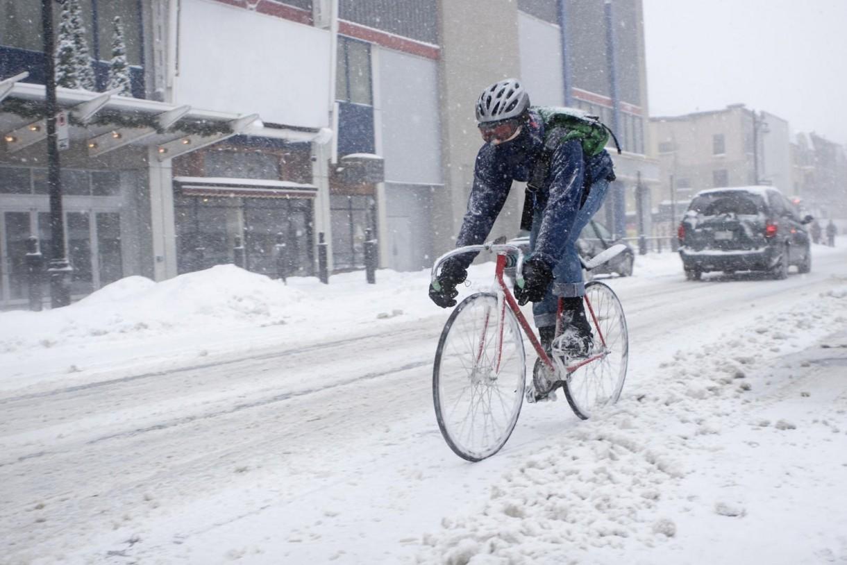 commute snow cold