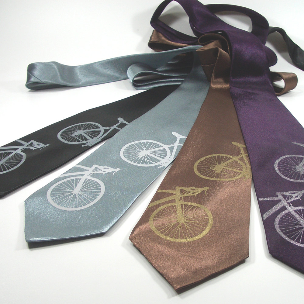 bike themed gifts tie