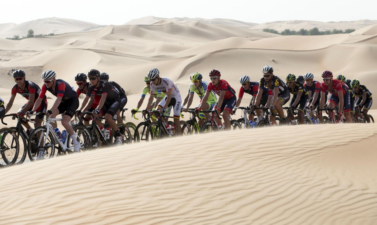 road bike in middle east desert (1)