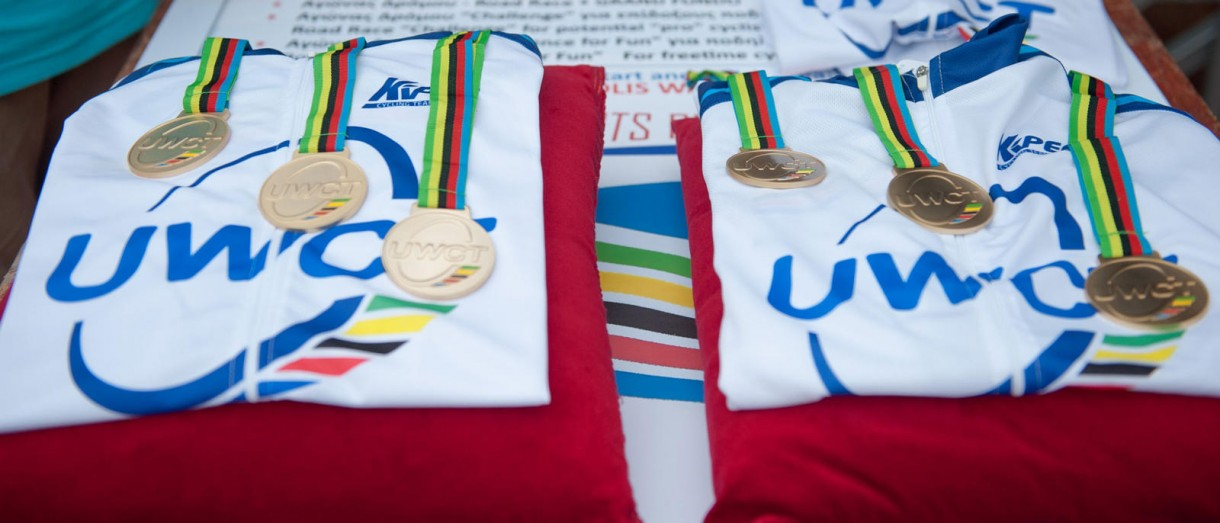 uci gran fondo rhodes jerseys medals