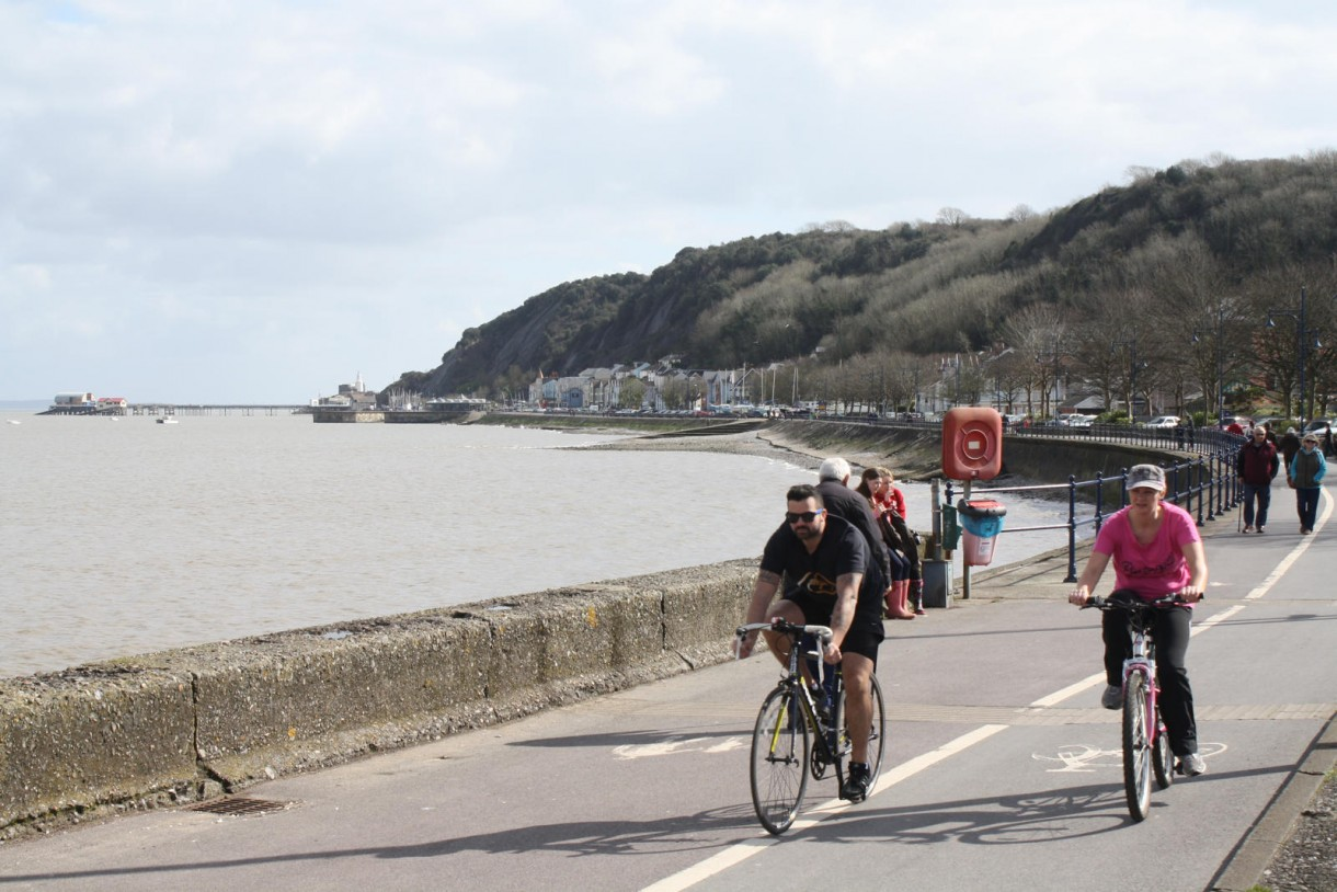 why to visit wales seaside cycling