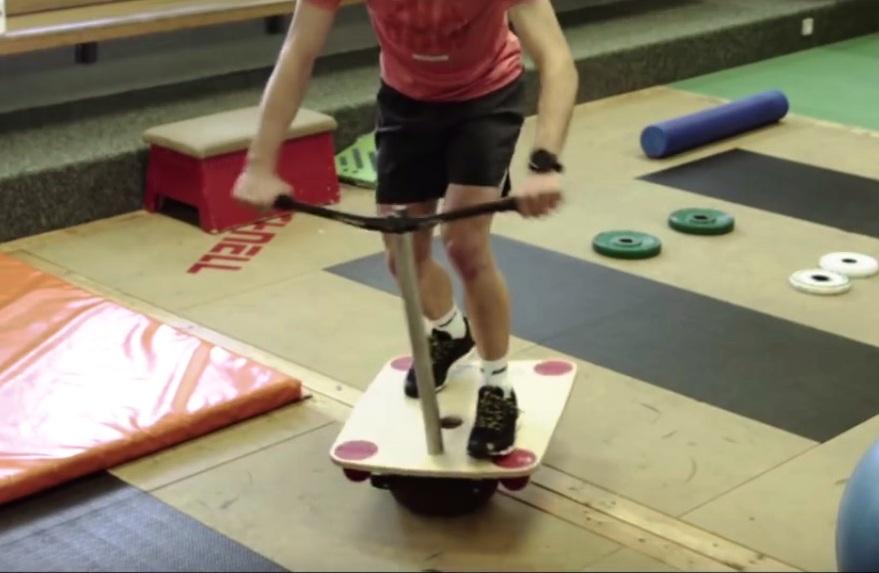 balance board workout