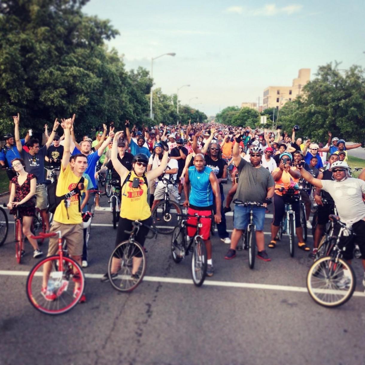 detroit cycling urban fest