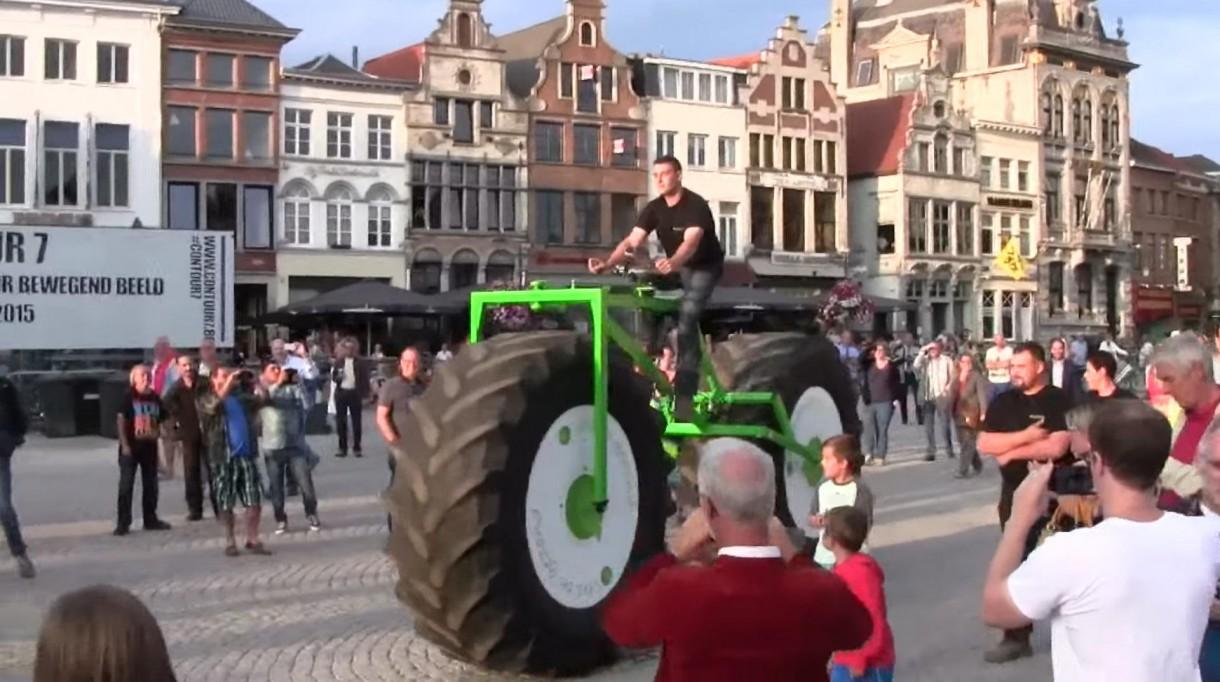 heaviest rideable bicycle huge bike