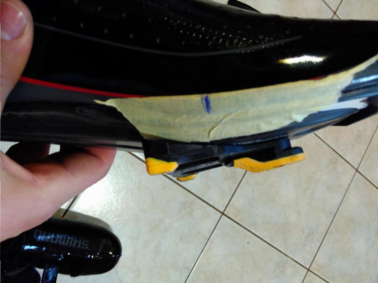 how to put cleats road bike shoes (14)