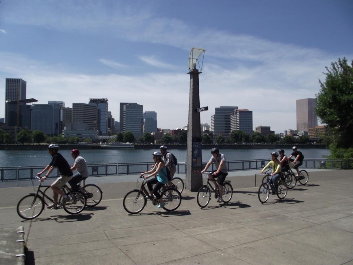portland cycling urban