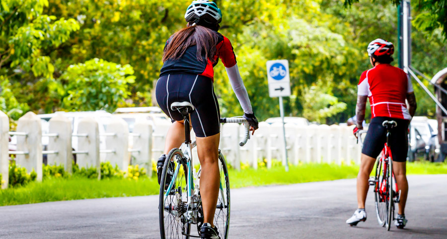 road bike ride wait