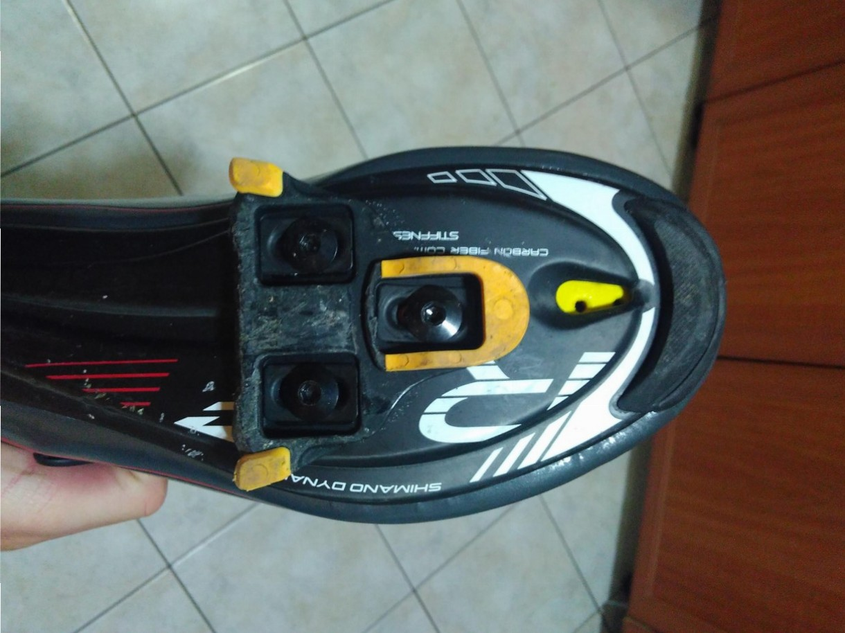 road bike shoes cleat allignment