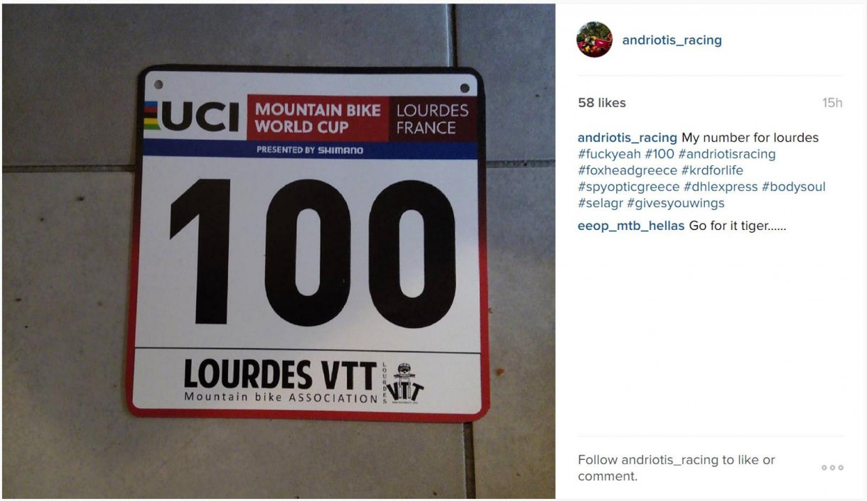 andriotis lourdes world cup number plate