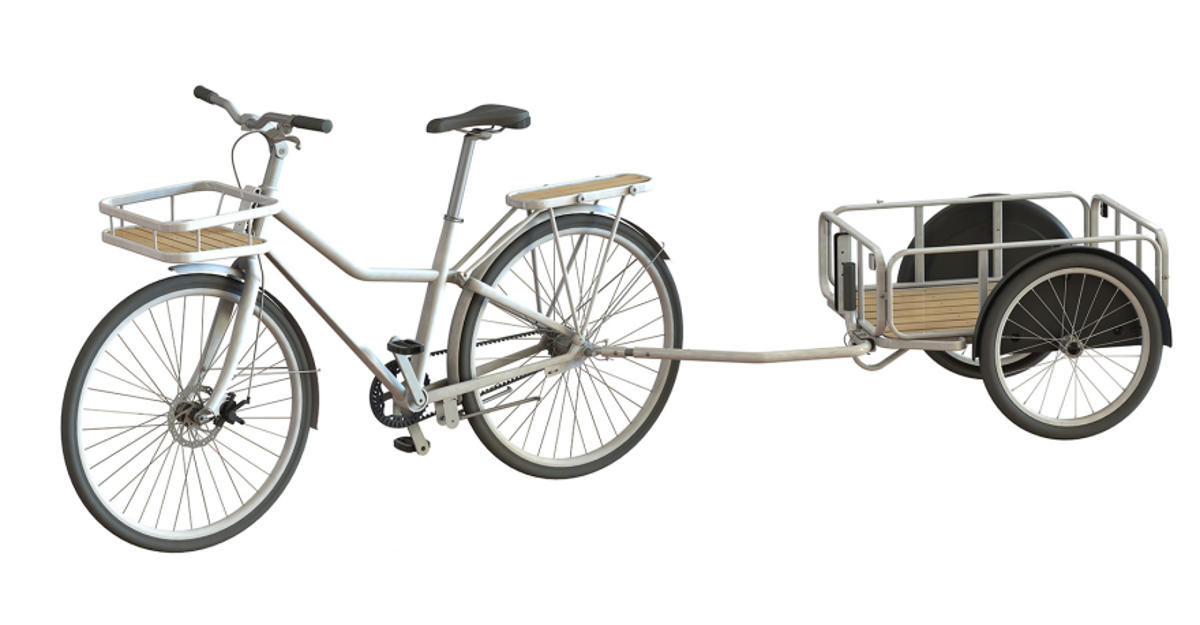 ikea city bicycle trailer