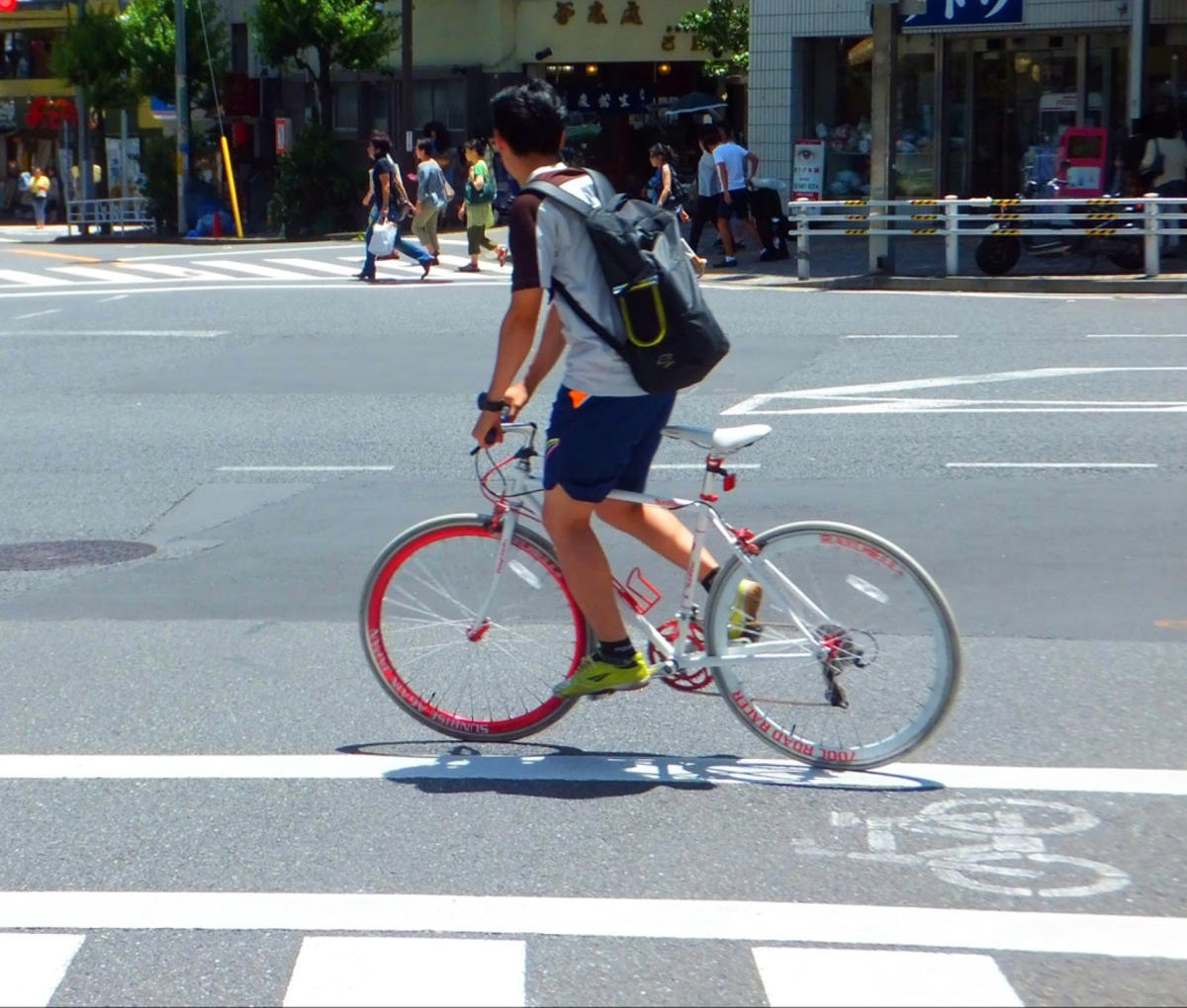 road bike with sun (3)