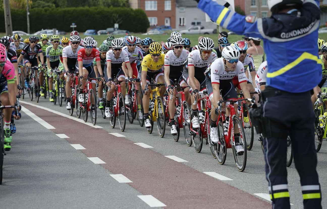 Tour de France Gendarmerie
