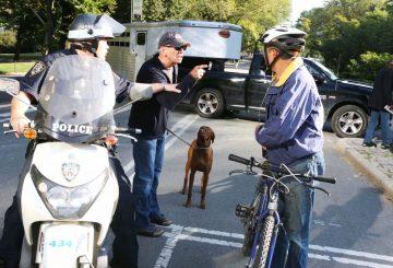 cop ticket cyclist