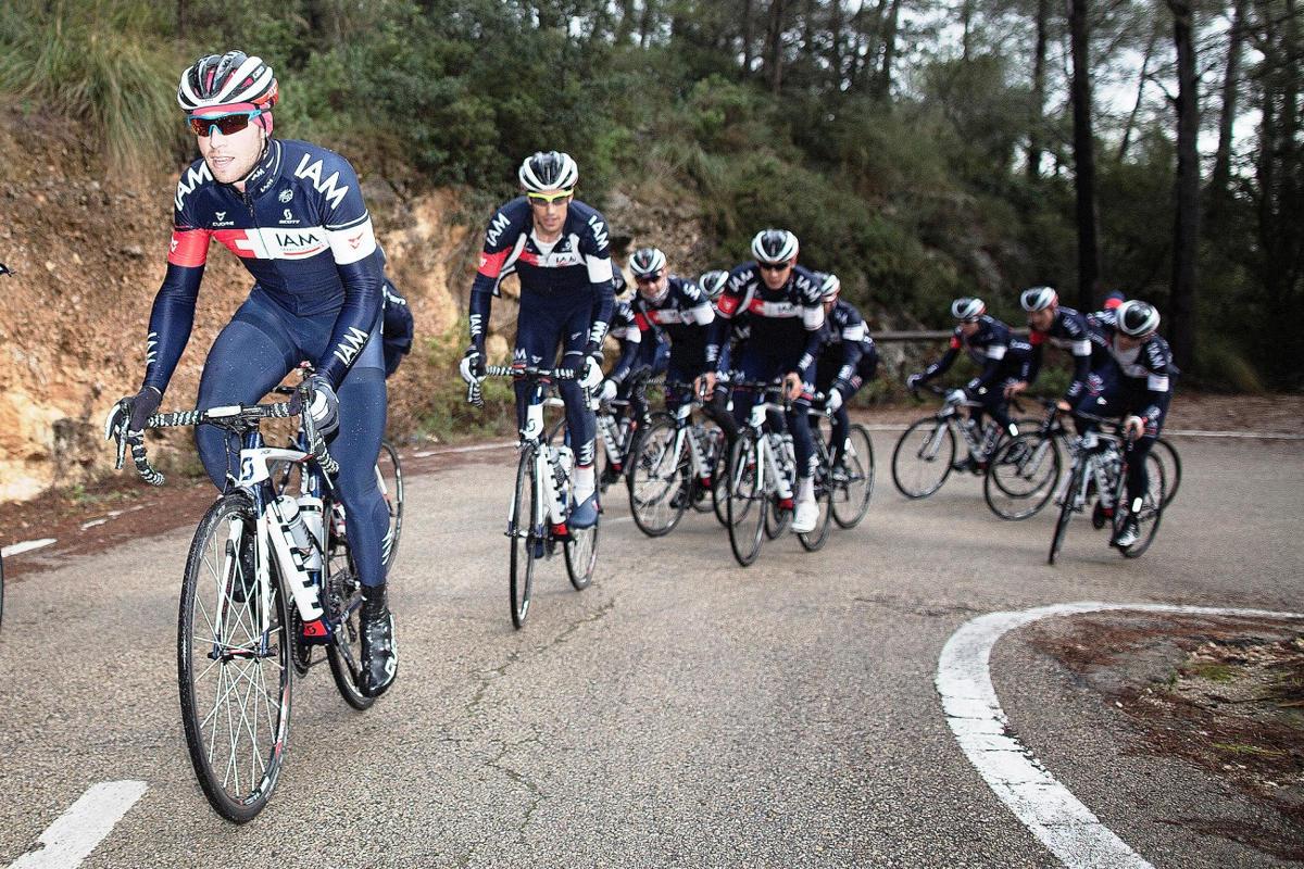 iam cycling team road bike (2)