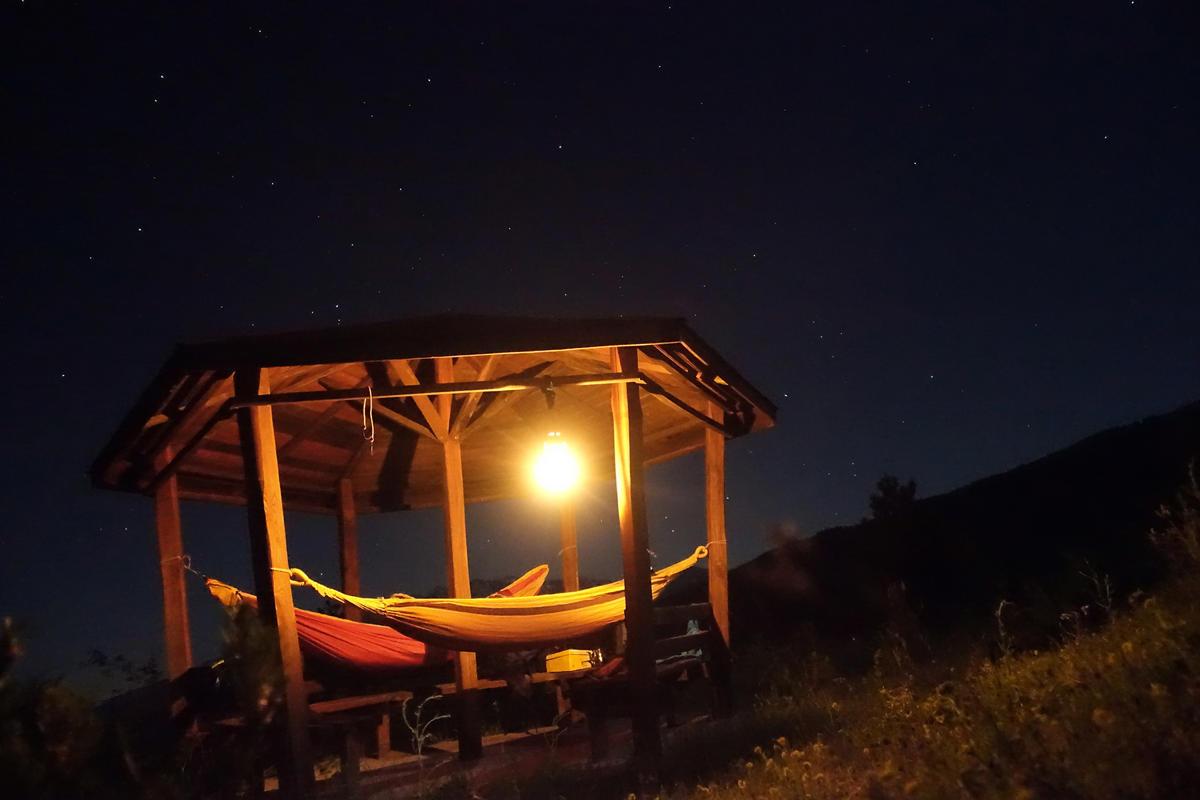 pieria orh mtb greece night sleep mountain