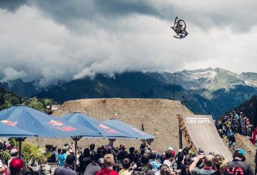 dirt jump slopestyle 360