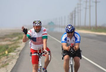 fat cyclist road bike  (2)