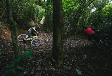 matt hunter jamaica mtb switchback turn