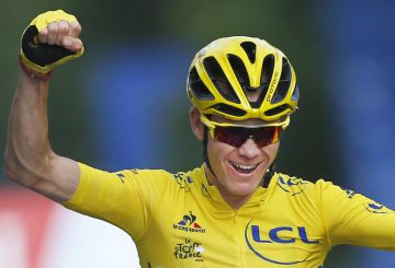 chris froome happy winner tdf