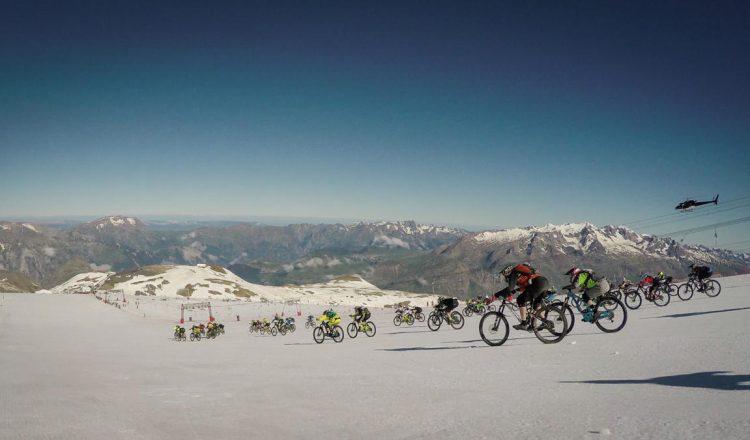 mountain of hell mass start glacier enduro mtb