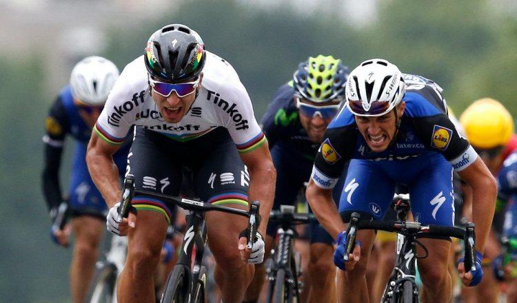 peter sagan final sprint tdf 2016 road bike