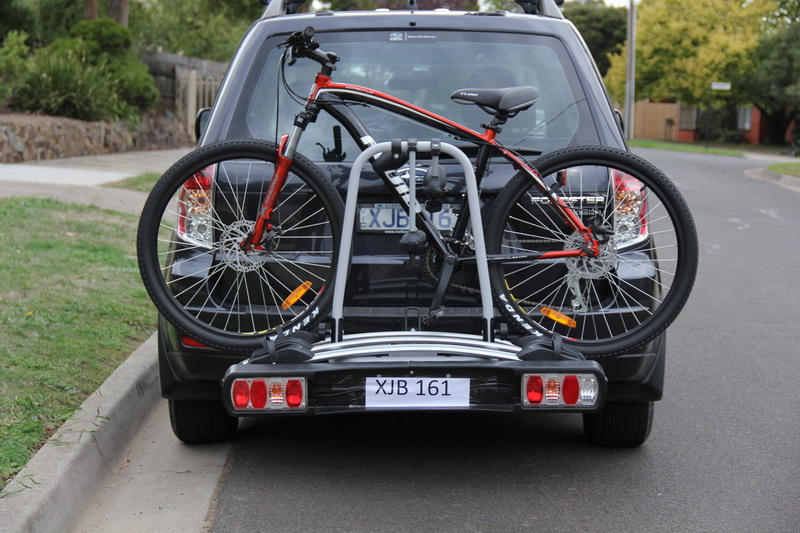 rear tow rack bicycle carrier