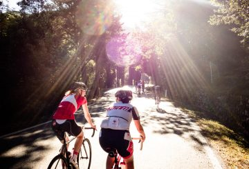 road bike sunshine fun