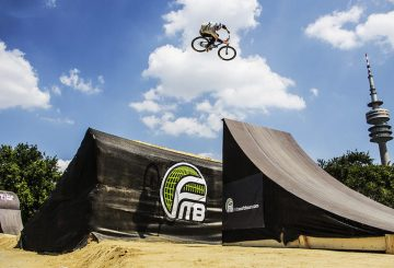 slopestyle jump huge
