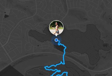 strava beacon tracking