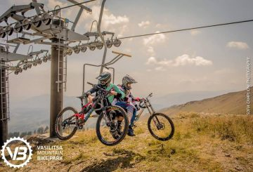 vasilitsa mountain bike park lift