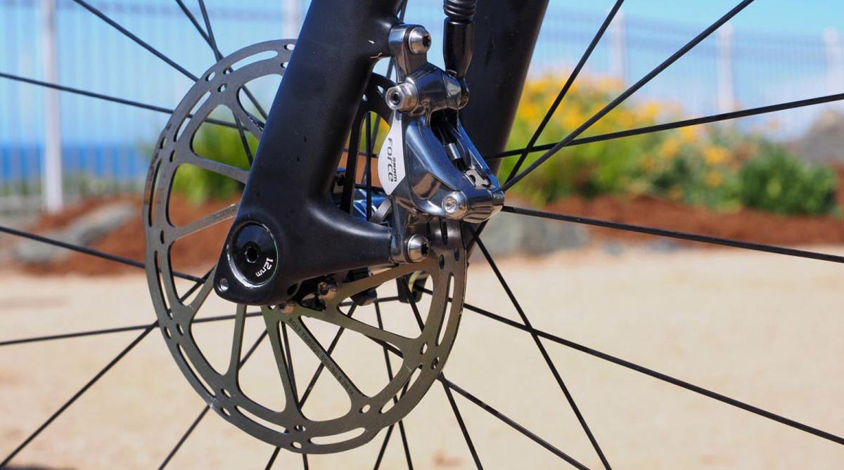 disk-brake-road-bike-closeup