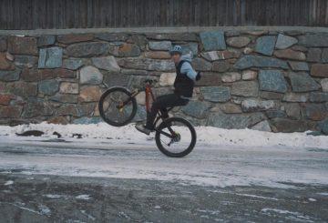 fabio wibmer no hands wheelie