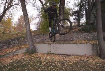 mitch ropelato urban enduro bunny hop jump