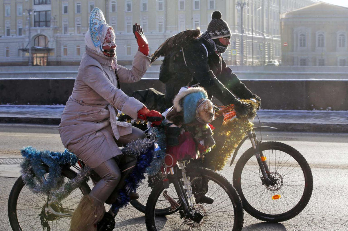 moscow cold cycling