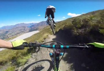 new zealand flow trail jump