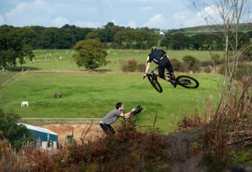 a bigger slice of british pie mtb jump camera man