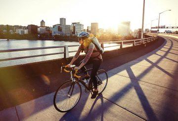 bike-commute-sunset